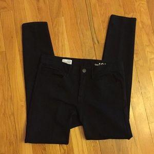 Gap 1969 black legging jean